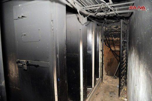 Underground tunnels East Ghouta