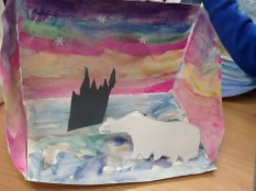 Look at our amazing water colour painting!