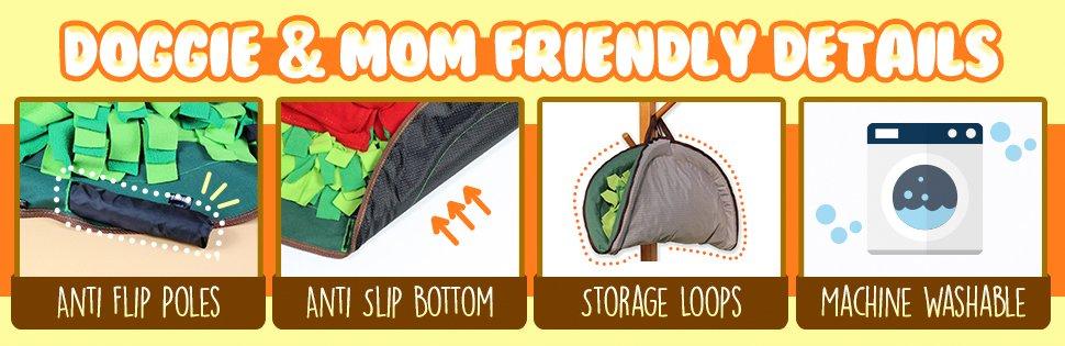 Dog and mom friendly designs