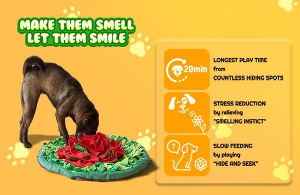 Sniffiz snuffle mat's benefits