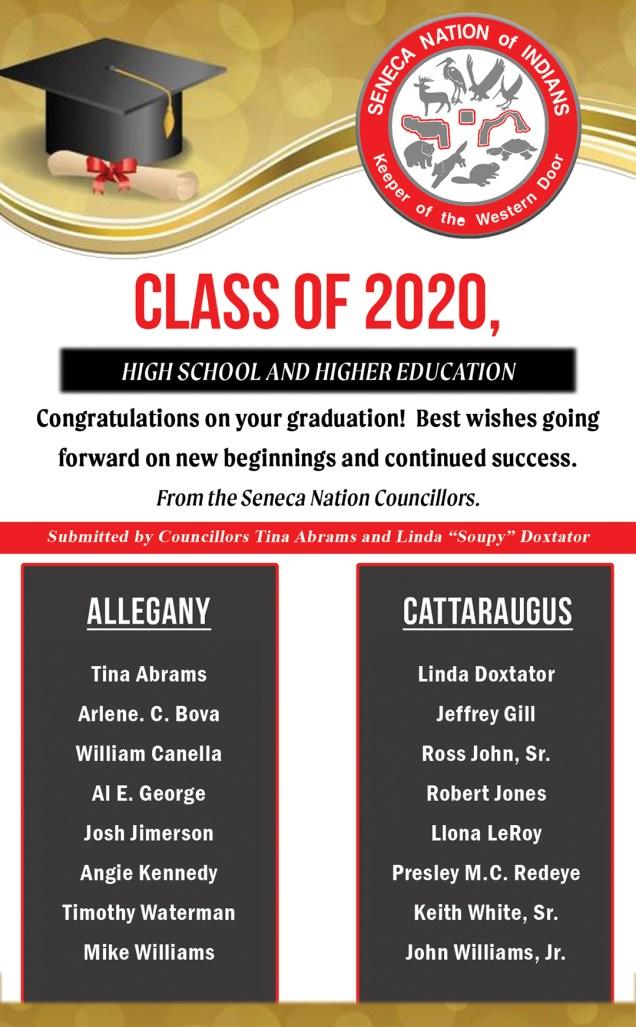 Council - Congrats class of 2020