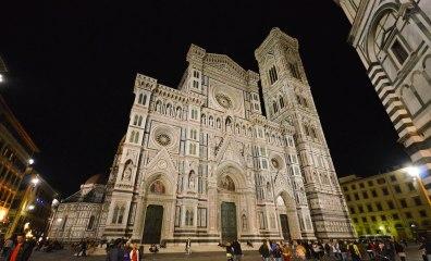 Santa Maria dei Fiore Cathedral at night