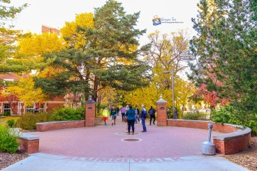 Alumni Walk, UofA, Edmonton, AB