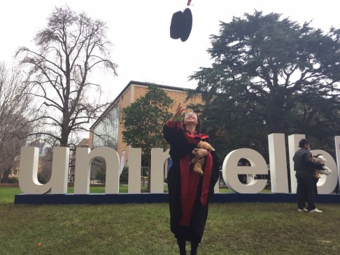 PhD Graduation University of Melbourne