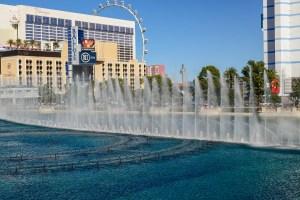The Fountains of Bellagio, Las Vegas The Strip