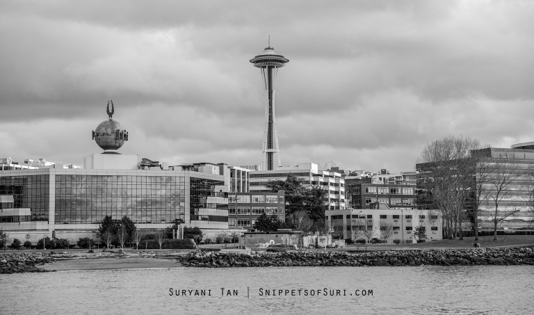 Space Needle from the Argosy Cruises Harbour Tour