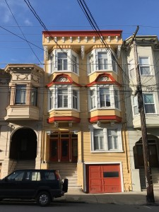 San Francisco has interesting styles of housing
