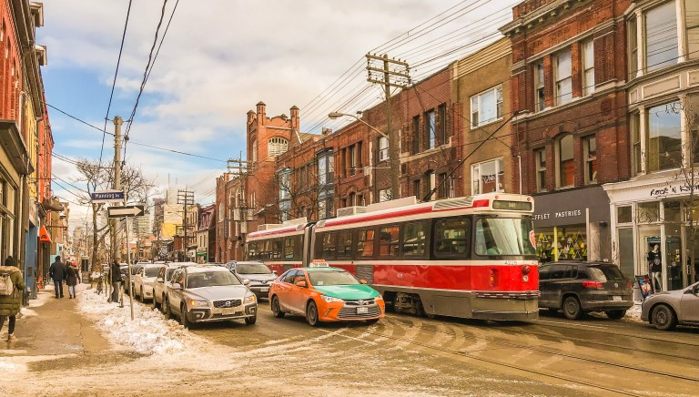 Queens St West_Toronto