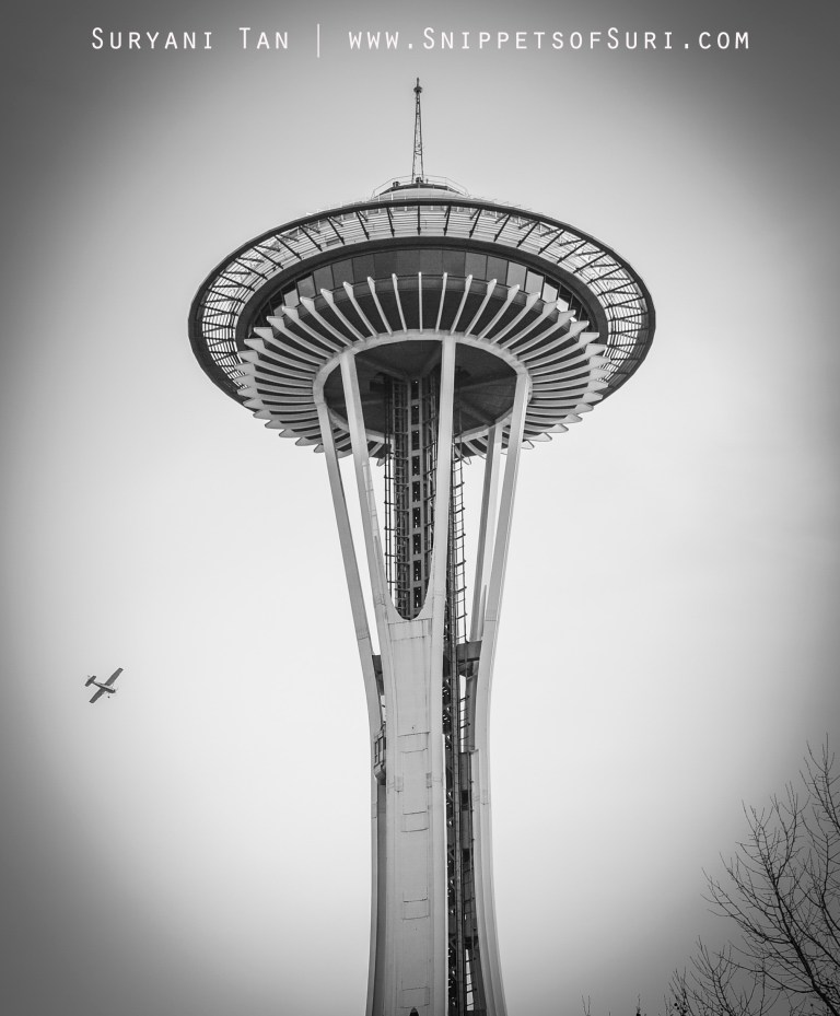 Space Needle from the Seattle Centre