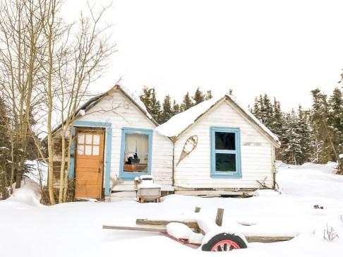 Winter Activity in Yukon Canada
