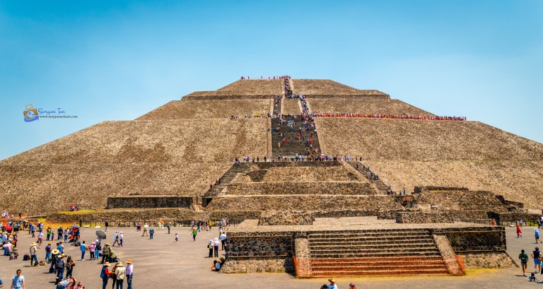 Teotihuacan Pyramid of the Sun Mexico
