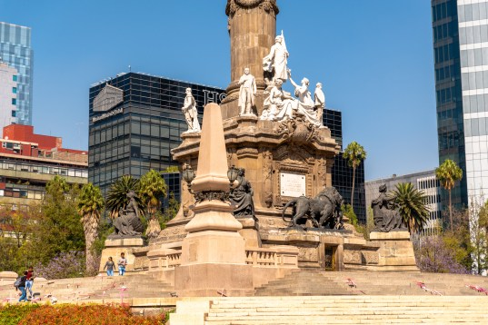 Angel of Independence Monumento a la Independencia Downtown Mexico City