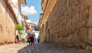Around the streets of Cusco Peru