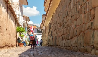 Around the streets of Cusco Peru