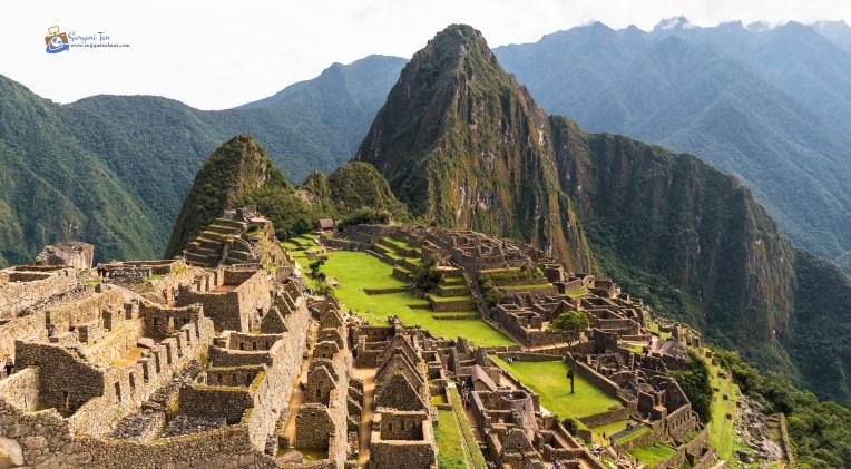 Machu Picchu Peru Classic Shot