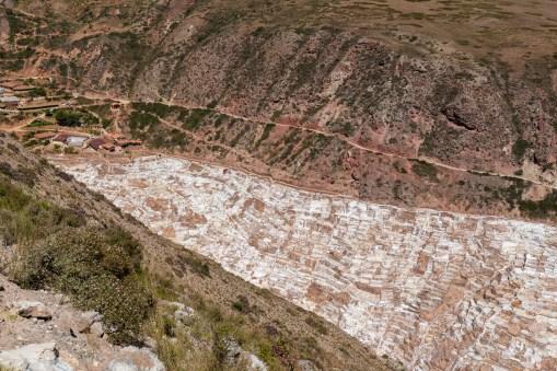 Salt pans of Maras Sacred Valley Peru