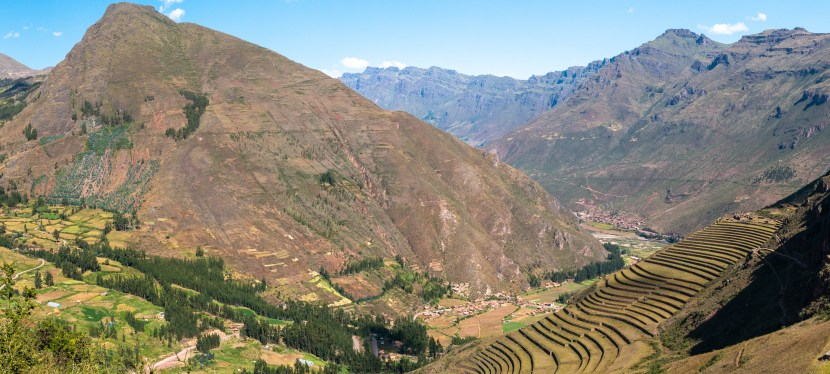 The Sacred Valley of the Incas: Pisac