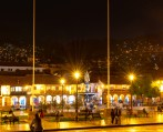 Plaza De Armas Cusco Peru Night