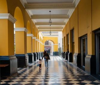 Lima Peru Downtown