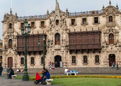 The Archbishop's Palace Plaza de Armas Lima Peru