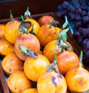 San Isidro Market Lima Peru Fruits Granadilla