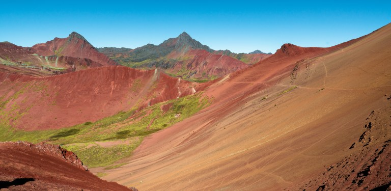 The Ausangate Rainbow Mountains of Peru Apu Winicunca Red Valley