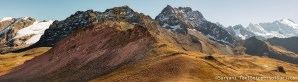 Peru, Rainbow Mountain, apuwinicunca