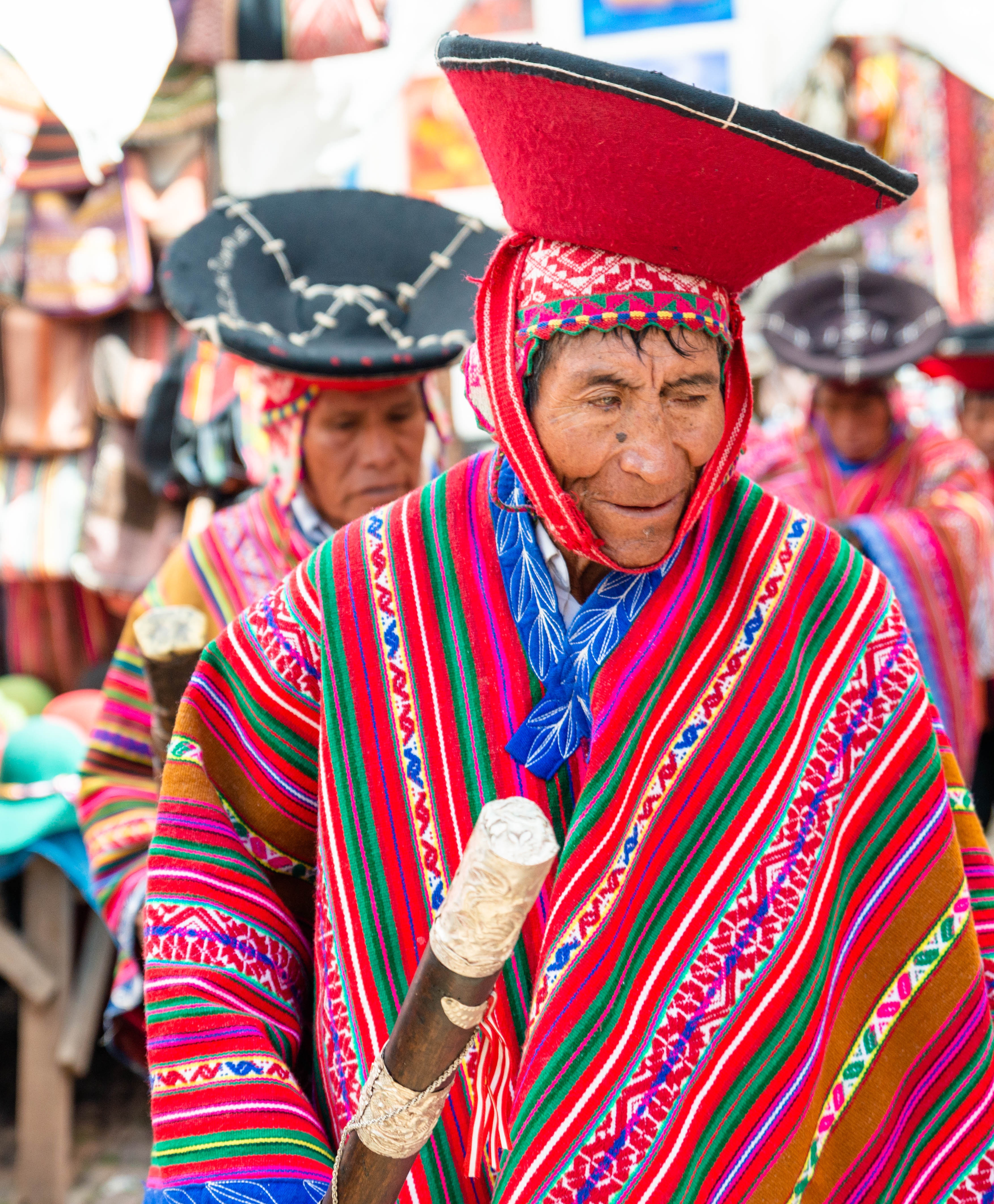 South America Peru Cusco Pisac Sacred Valley Quechua Quechua Indians Local Elders Peruvian Cultures Traditions Nikon D800