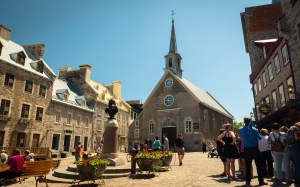 North America Canada Québec Québec City Landmark Church Urban Nikon D800