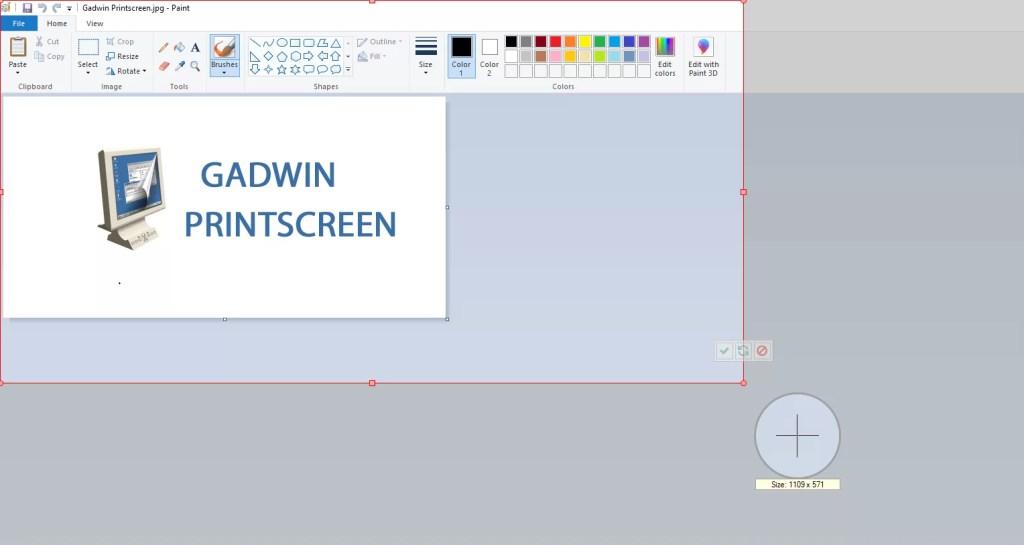 How to use Gadwin PrintScreen