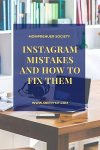 Struggling with Instagram?  Mistakes You're Making