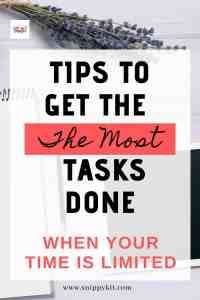 Momprenuer Tip || Tips to Maximize Your Productivity