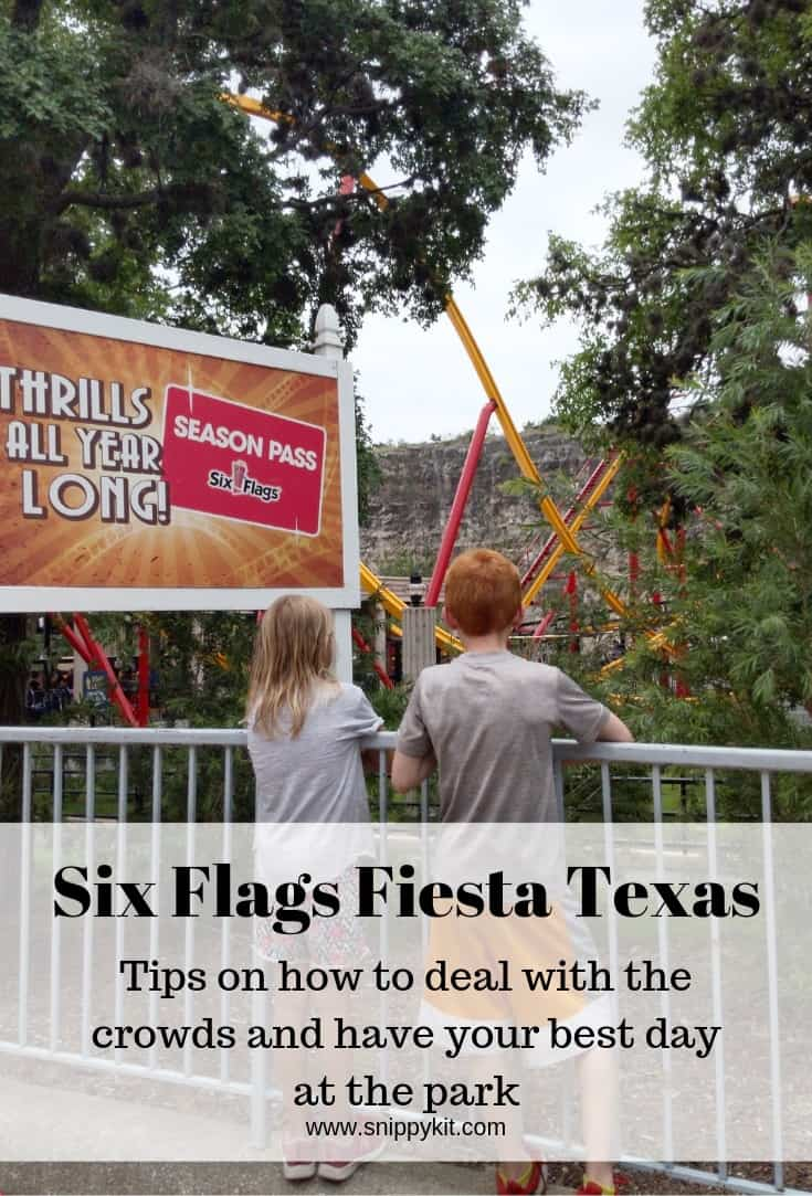 In the summer the kids are out of school and looking for something fun to do. Six Flags Fiesta Texas is a fun day full of treats, rides, and sunshine.