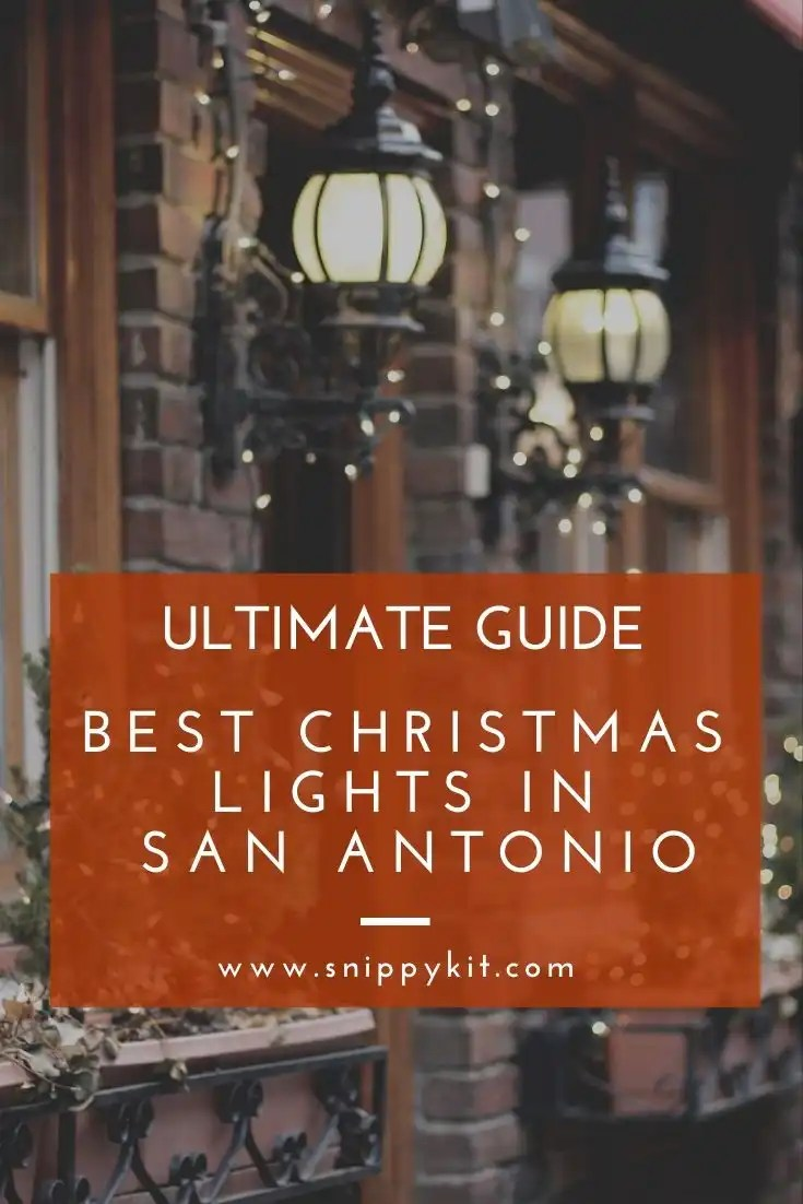 Checking out Christmas light is a great family tradition. This is the ultimate guide of the best places to see Christmas lights in San Antonio Texas.