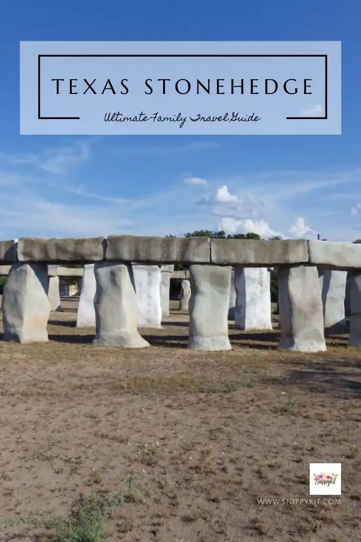 Tucked away in the Texas Hill County is this beautiful, fun hidden gem. You can visit Stonehenge in Ingram, Texas and feel like you're somewhere far away.