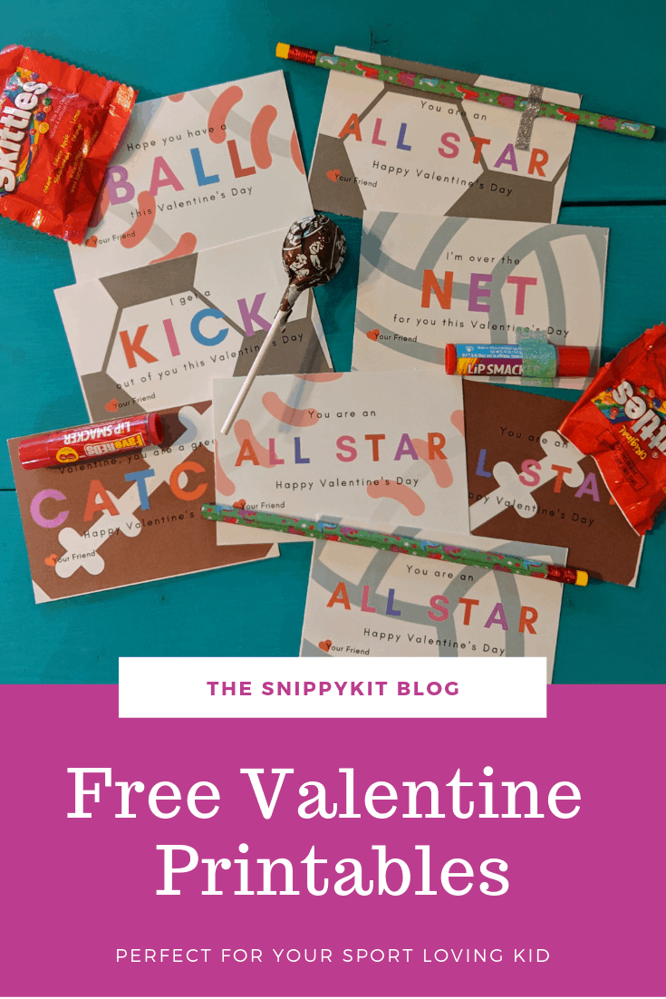 FREE Valentine's Day Printables - your choice of four modern and simple printables for you Valentine or holiday home decor.