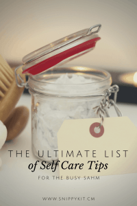 Treat Yourself: 12 Tips for the Busy Stay at Home Mom || Self Love