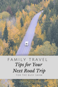 Family Travel || 5 Road Trip Ideas to Keep your Kids Happy with Free Printable