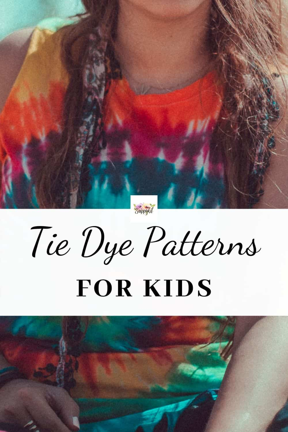 Making tie dye shirts is not as messy as it sounds! Learn how to tie dye with kids + a bunch of great tips, tricks, and tie dye patterns and instructions!