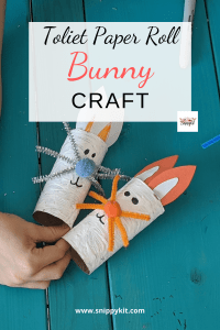 Easy Toilet Paper Roll Bunny Craft for Kids