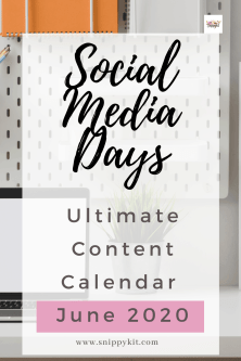 Ready to take your social posts to the next level with our June Content Calendar Ideas? Keep this article ready for ideas, dates and templates!