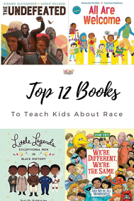 It's never too early to talk to kids about race. Use these children's books about race and racism to spark powerful conversations with kids and teens.