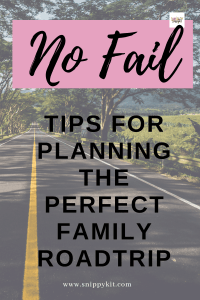 Tips on Planning the Perfect Family Road Trip
