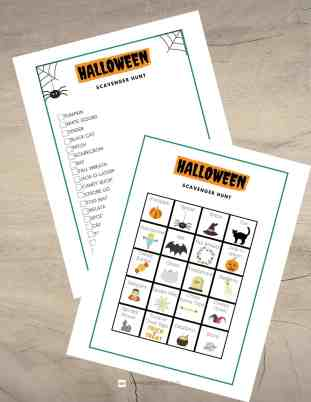 Use this Halloween scavenger hunt as a Halloween Party game or as a fun activity while Trick or Treating! Fun for kids, teens, and adults! Halloween Scavenger Hunt for Kids | Halloween Scavenger Hunt Ideas | Halloween Scavenger Hunt Clues