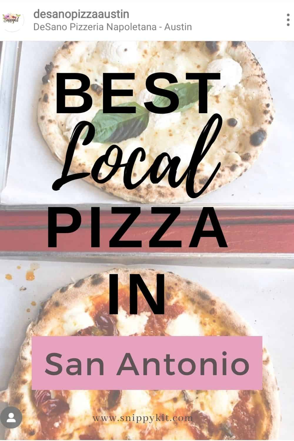 Find a wide variety of pizza styles throughout the city that will leave you satisified. Check out our list of the Best Pizza in San Antonio.