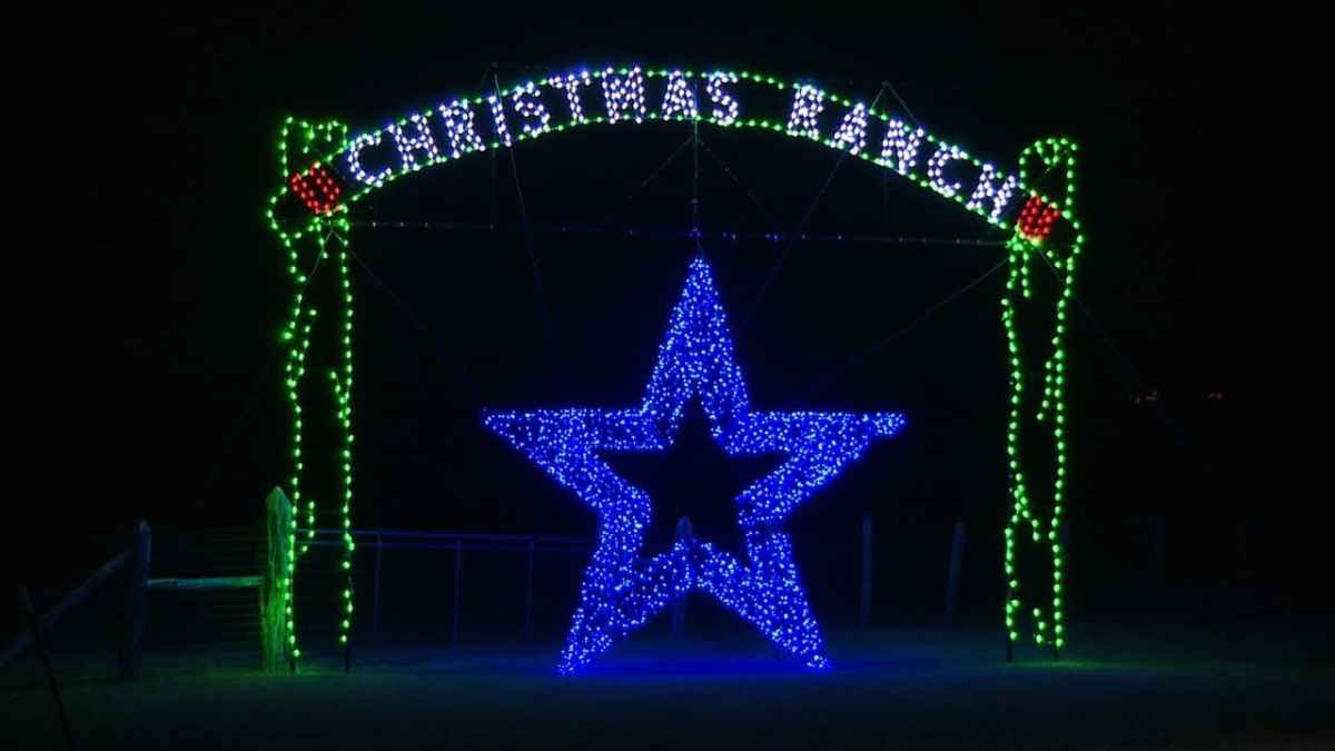 the best things to do in San Antonio for thanksgiving week.  Christmas ranch
