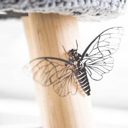 Geknipte Cicada