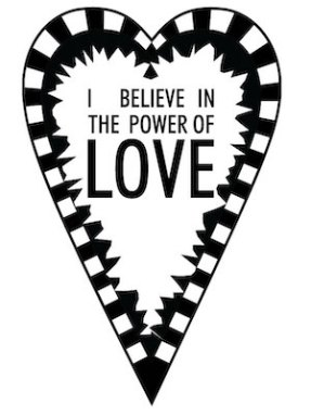 I believe in the power of love SVG