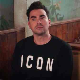 David Rose ICON sweater