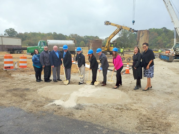County Breaks Ground For Telecommunications Tower